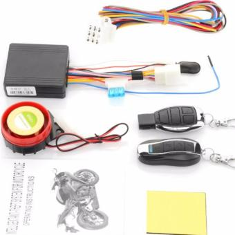 Motorcycle Anti-theft Security Alarm System Remote Control 125db Remote Engine Start (Anti-line Cutting)