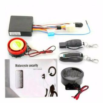 Motorcycle Bike 12V Anti-theft Security Talking Alarm System Remote Control Engine Start