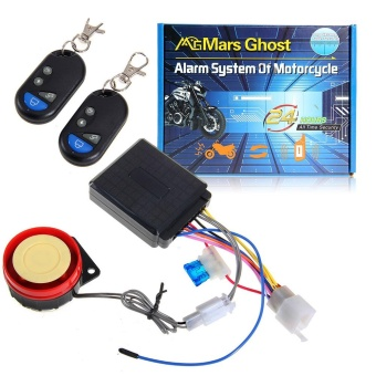 Motorcycle Bike Anti-theft Security Alarm System Remote Control Engine Start NEW - intl