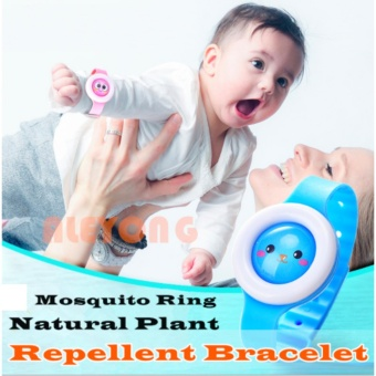 New HONG KONG Mosquito Repellent Anti-mosquito Bracelet for Kids Children- Assorted Color & Design Set 1 Price Philippines