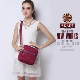 "Newly Arrival ""Skadi"" 664 Korea Ladies Shoulder Bag (Red) Price Philippines"