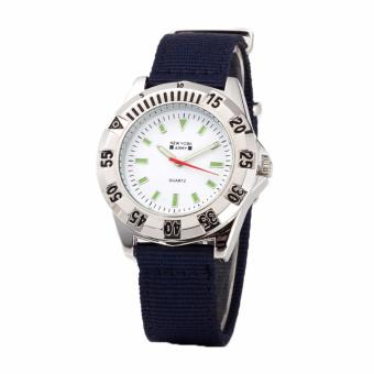 Newyork Army NYA8910 Men's Navy Blue Nylon Strap Watch