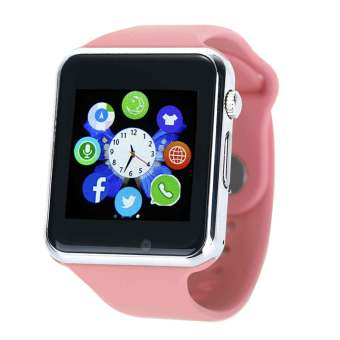 niceEshop Multi-Function Bluetooth Wireless Smart Watch for Mobile Phone, Pink - Intl