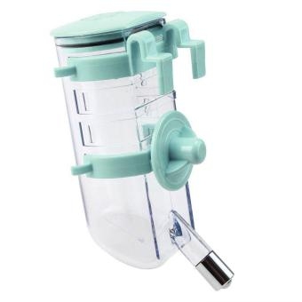 No Drip Pet Dog Cat Water Feeder Drinker - 350ml (Mint Green)