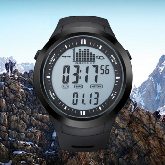 NORTH EDGE digital watches Men Watch with Weather forecastAltimeter Barometer Thermometer Altitude for Climbing HikingFishing Outdoor sports /Grey screen Price Philippines