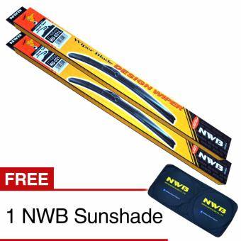NWB DESIGN Wiper Blade for Isuzu Crosswind 2005-2016 - (SET)