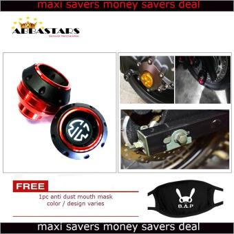 Orange Brembo Motorcycle Axle Nut Cover Axel Nut Universal Cap Modified for Yamaha Mio Soul i 125