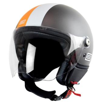 Origine Italy Open Face OR 00079 Mio Retro Grey Helmet (2017Collection) - XXL