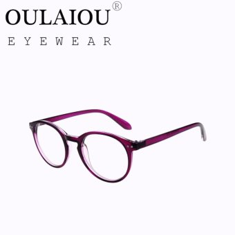 Oulaiou Fashion Accessories Anti-fatigue Trendy Eyewear Reading Glasses OJ8006 - intl .