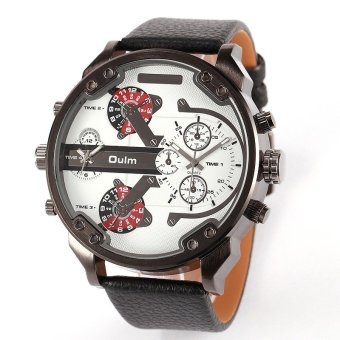 Oulm Luxury Personality Men's Watches (White) Price Philippines
