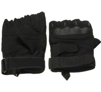 Outdoor Half Finger Gloves Motorcycle Riding Knuckle