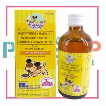 Pampered Pooch Multivitamins with Chlorella Growth Factor 120 ml