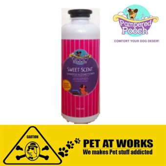 Pampered Pooch Sweet Scent (500ml) Organic shampoo and conditionerfor Dog