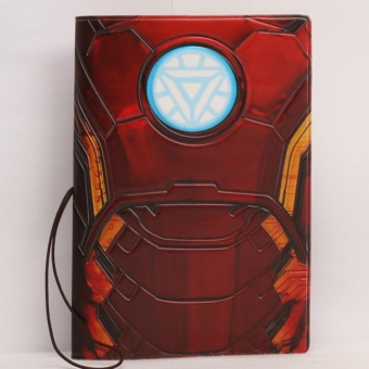 Passport Cover Case 3D Iron Man Passport Holder - intl