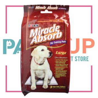 Paws Up Miracle Absorb Pet Training Pads (Large) Price Philippines