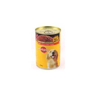 Pedigree Beef Can 400G (3 cans)