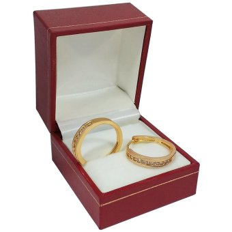 Persian Princess Daneen 18K Yellow Gold Hoop Earrings (Gold)