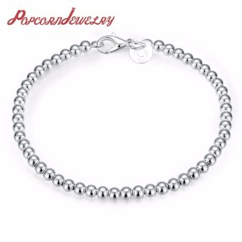 Popcorn H198 Mini Beads Chain Bracelet (Silver Plate) Price Philippines