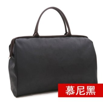 Portable Travel Bag Luggage Bag Female Male Large Capacity Short Travel Bag Fitness Travel Bag-L Size:50x35x22cm - intl