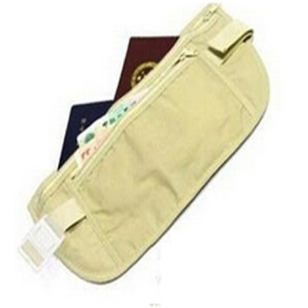 Professional Outdoor Running Sports Anti Theft Inner Waist BagPouch Khaki Price Philippines