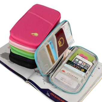 QF Travel Wallet Passport Ticket Holder Organizer