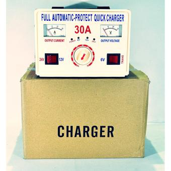 QUICK BATTERY CHARGER FOR CAR BATTERIES 30A