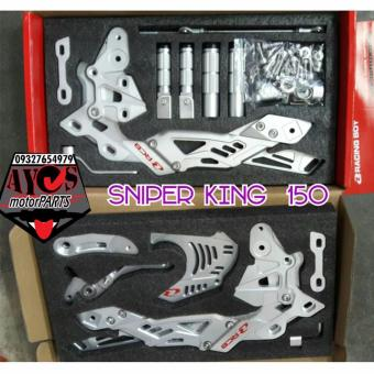 Racing Boy Full Shifter V6 Sniper 150 King Foldable-Silver Price Philippines