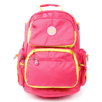 Racini 3-706 Backpack (Pink/Yellow) Price Philippines