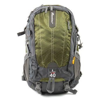 Racini 40-371 Mountaineering Backpack (Dark Gray/Mold Green) Price Philippines