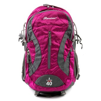 Racini 40-374 Mountaineering Backpack (Dark Gray/Violet) Price Philippines