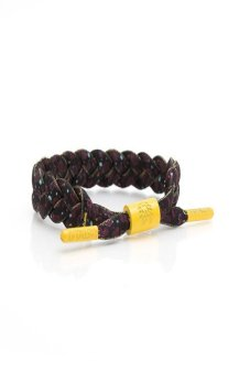 RASTACLAT Shoelace Bracelet Generation X (Black/Yellow/Purple) Price Philippines