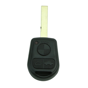 Remote Key Shell fit for BMW E31 E32 E34 E36 E38 E39 E46 Z3 CaseFob 3 BTN Uncut (Intl)