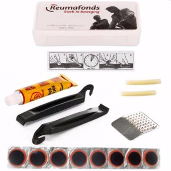 Reumafonds 4-in-1 Professional Bike Bicycle Tire Tyre Repair ToolsPatch Tool Kit 52g