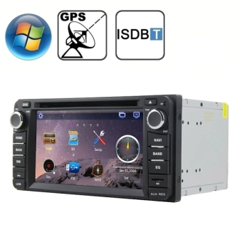 Rungrace 6.2 inch Windows CE 6.0 TFT Screen In-Dash Car DVD Player for TOYOTA with Bluetooth / GPS / RDS / ISDB-T
