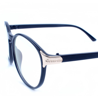 S & F Fashion Eyeglasses Frame Optical Reading Eye plain Glasses Blue - intl