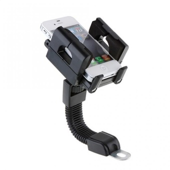S&L Motorcycle 360 Degree Rotating Mount Holder Support for GPS/ Cell Phone