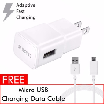 Samsung 15w Adaptive Fast Charging Travel Adapter ORIGINALAUTHENTIC for Samsung Mobile Devices (White)