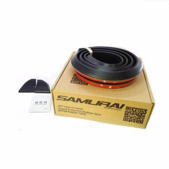Samurai Rubber Ducktail 4.5cm (BLACK)