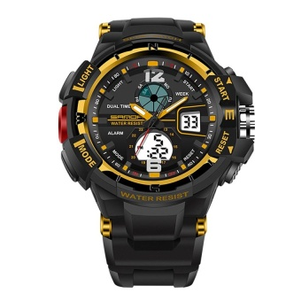 SANDA 789 Fashion Student Outdoor Sports Waterproof ElectronicWatch - intl