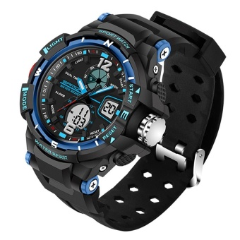 SANDA 789 Fashion Student Outdoor Sports Waterproof ElectronicWatch - intl Price Philippines