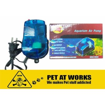 Sea Quest Storm 1 Aquarium Air Pump 2.2W For Fish Aquarium Tank,Marine Tank, Salt Water Tank and Planted Tank