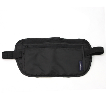 Security Zipped Waist Bum Belt Bag Passport Cash Card Holder Sport Travel Pouch