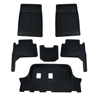 Semi-Deep Rubber Matting for Isuzu MUX