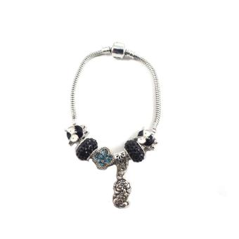 Sh jewels pandora inspied charm bracelet silver plated Price Philippines