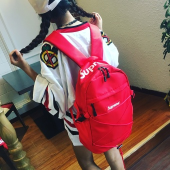 Shoulder Bag Supreme Backpack Fashion School Student Couple Bag Unisex Woman / Man Travel Bags - intl