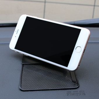 Silicone anti-slip mat car mounted mobile phone support supplies