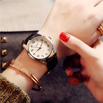 Simple is waterproof student quartz watch women's watch