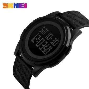 SKMEI 5ATM Water Resistant Fashion Digital Casual Sports Wrist Watch Classy Lightweight Watch with Calendar - intl