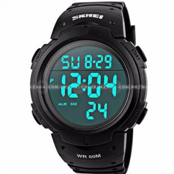 SKMEI Outdoor Pioneer Sports Digital Black Strap Watch