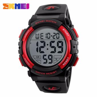 Skmei Silicone Strap Men's Watch DG1258 (Red) Price Philippines